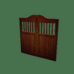Animated Saloon Doors