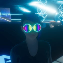 UNISEX_ PARTY_ GLASSES_ EQUALIZER ANIMATED EMISSIVE