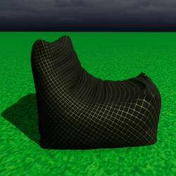 sofa chts black