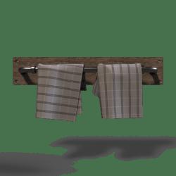 Industrial Towel-Rack Light Metal