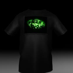 T-Shirt LED  Cypher