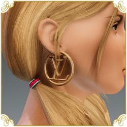 Hoop Earrings LV