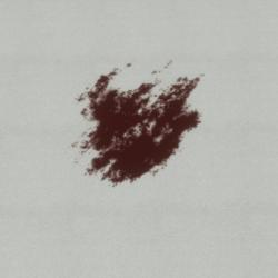 Transparent Horror blood 2