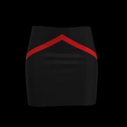 Skirt Red & Black