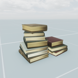 Old Book Pile