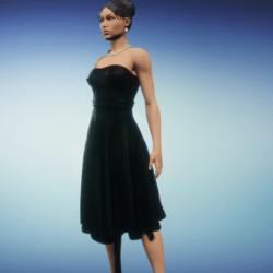 party dress_black