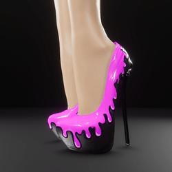 "Poison heels ""Delicious"""
