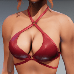 Carol Bikini Top for Kismet Body (3A or 3B) by Apocalypse Bunnies (red)