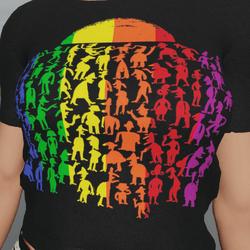Pride Crowd T-Shirt F