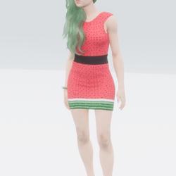 Watermelon Delight Dress
