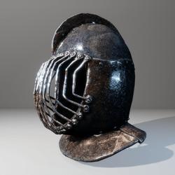 Tournament helmet prop
