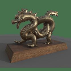 Small Dragon Statue