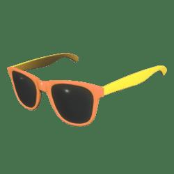 Sunglasses Orange Yellow - Female