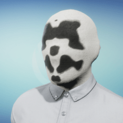 Animated Psychiatrist Mask (male version)