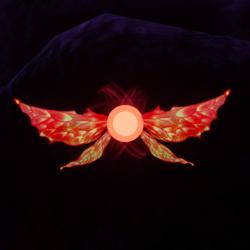 Red Pixie Pet [Glasses Slot]
