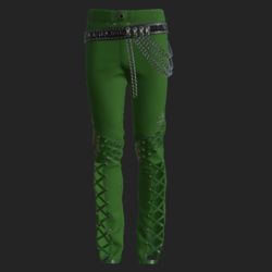YANO PANTS GREEN