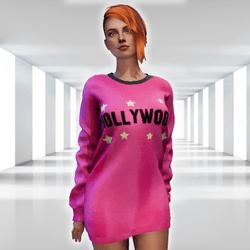 ✿ Hollywood Sweater Mini Dress ✿