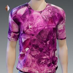 Pink Crystal T-Shirt