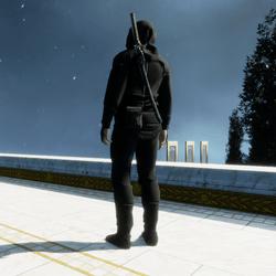 Classic authentic Ninja suit