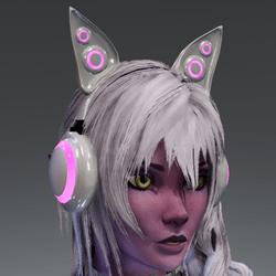 Anubis headphones WHT