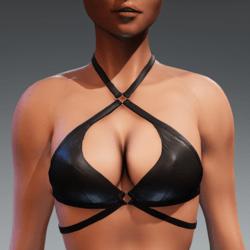 Carol Bikini Top for Kismet Body (3A or 3B) by Apocalypse Bunnies (black)