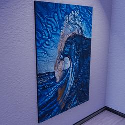Charging Ocean Artwork