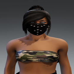 [INTOXICATED] womens tube top Camo forest