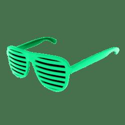 Shutter Glasses (Green) - Male