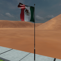 TKA Animated flag Mexico