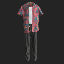 ACE  VENTURA OUTFIT A
