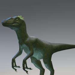 Green Raptor Avatar