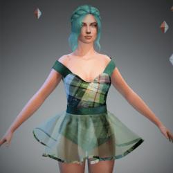 Tully Green Tart Ballerina