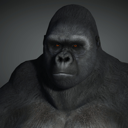 Silverback Gorilla Avatar