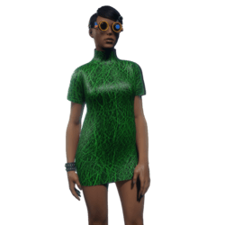 Tube Dress Green
