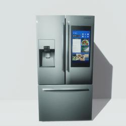 Refridgerator Stainless 3 Door
