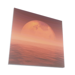 Mars 3D Artwork Painting