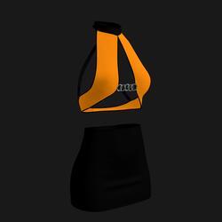Leera Clubbing Outfit 07 (Orange/Black)