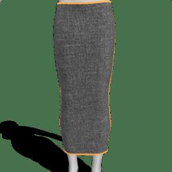 Long Skirt Grey