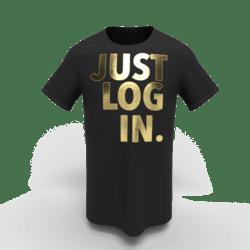 T-Shirt JustLogIn Z unisex