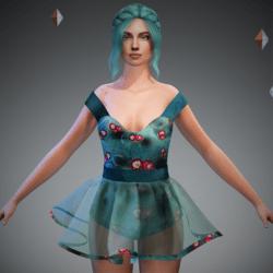 Tully Blossom Ballerina