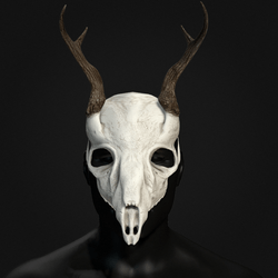 Deer Skull Mask - Male