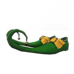 Elf shoes for male avatar II - green