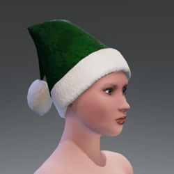 CHRISTMAS HAT GREEN