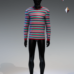 Friend Til The End Sweater [MALE]