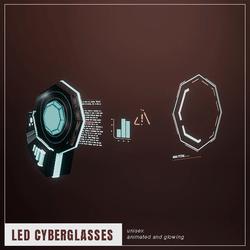 [LED/Space] Cyberglasses