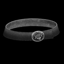Flower Belt - Dark Gray