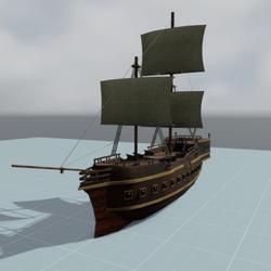 Ship Galleon