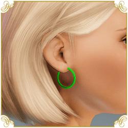 Festival Hoop Earrings
