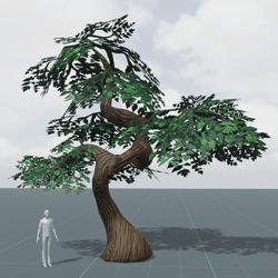 Gnarled Tree B | Stylized
