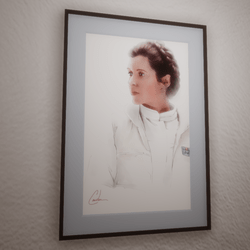 Leia - Watercolor Painting